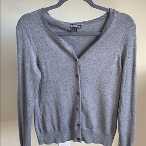 Like new Grey Express Cardigan